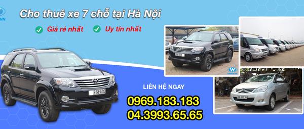 Dịch vụ cho thuê xe 7 chỗ giá rẻ, chuyên nghiệp tại Hà Nội - retopnk - Blog