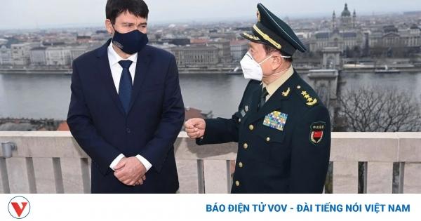 Bộ trưởng Quốc phòng Trung Quốc đi châu Âu để phá thế cờ vây của Mỹ?   VOV.VN