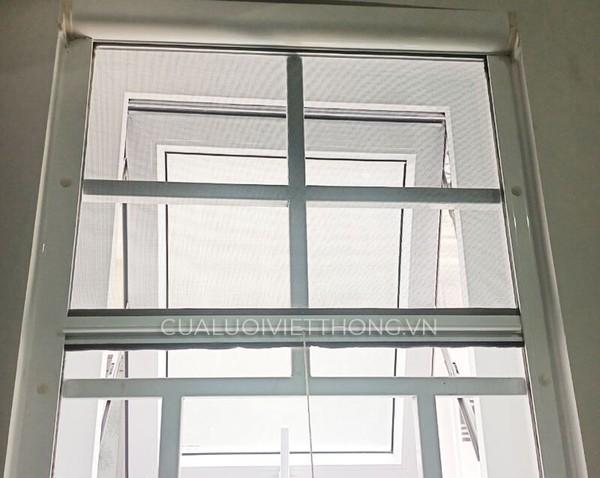 Cửa lưới chống muỗi tự cuốn dọc với độ bền cao